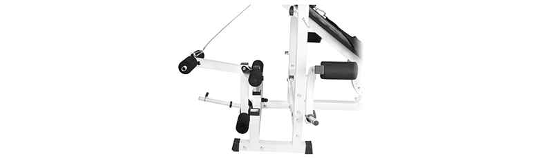 Step 6 : Connecting backrest supports