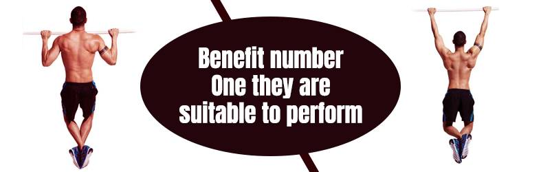 Benefits of Pull-Ups Number One They Are Suitable to Perform