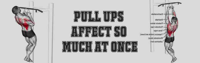 Benefits of Pull-Ups Number Two Pull UPS Affect so Much at Once