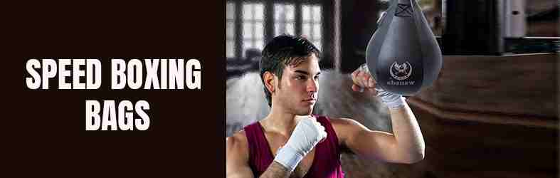 The Speed Boxing Bags