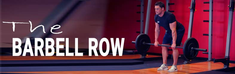 The Barbell Row